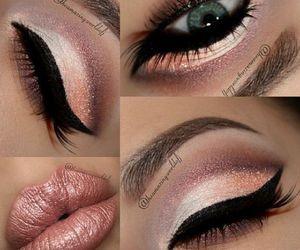 eye, face, and lashes image