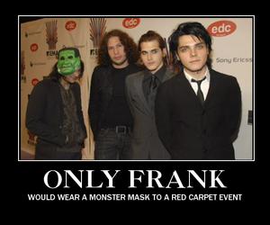 frank iero, funny, and mcr image