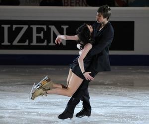 beautiful, black, and figure skating image