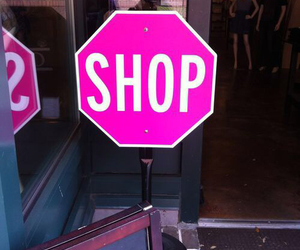 pink, shop, and girly image