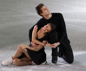beautiful, couple, and figure skating image
