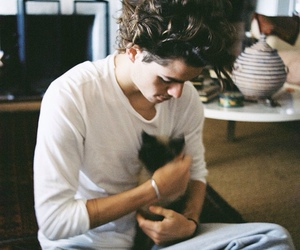 jack harries, boy, and cat image