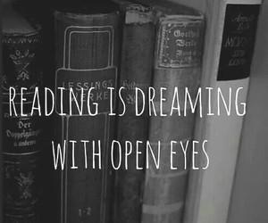 book, reading, and Dream image