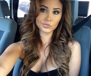 brunette, model, and catherine paiz image