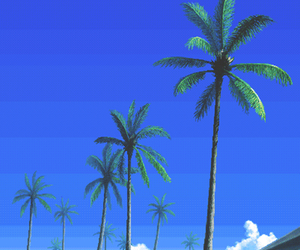 art, pixel, and tropical image
