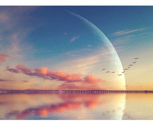 beautiful, Dream, and moon image