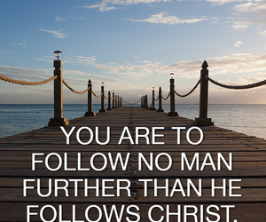 Christ, follow, and man image