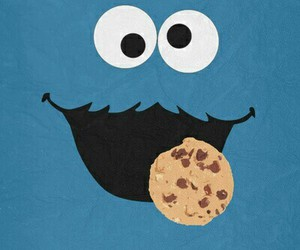 blue, monster, and Cookies image