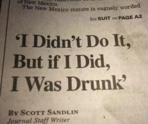 quotes, drunk, and funny image