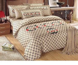 beds, gucci, and tan image