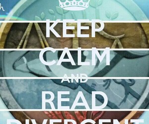 keep calm and divergent image