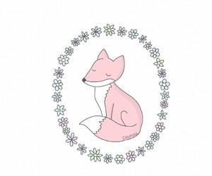 overlay, fox, and cute image