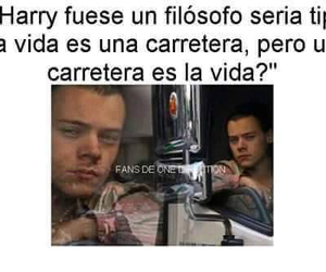 lol, Harry Styles, and filosofo image