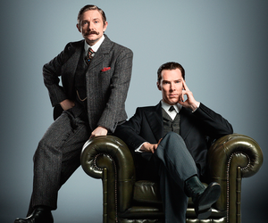 series, sherlock, and tv shows image