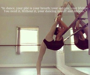 ballet, breath, and dance image
