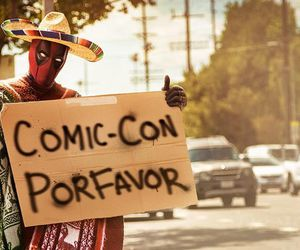 deadpool, comic con, and Marvel image