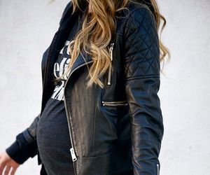 pregnant, baby, and fashion image