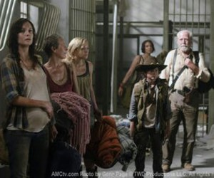 the walking dead, hershel, and lauren cohan image