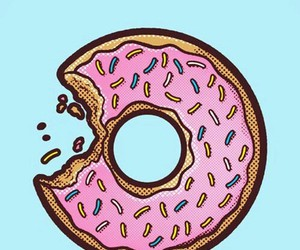 donuts, wallpapers, and sweet image