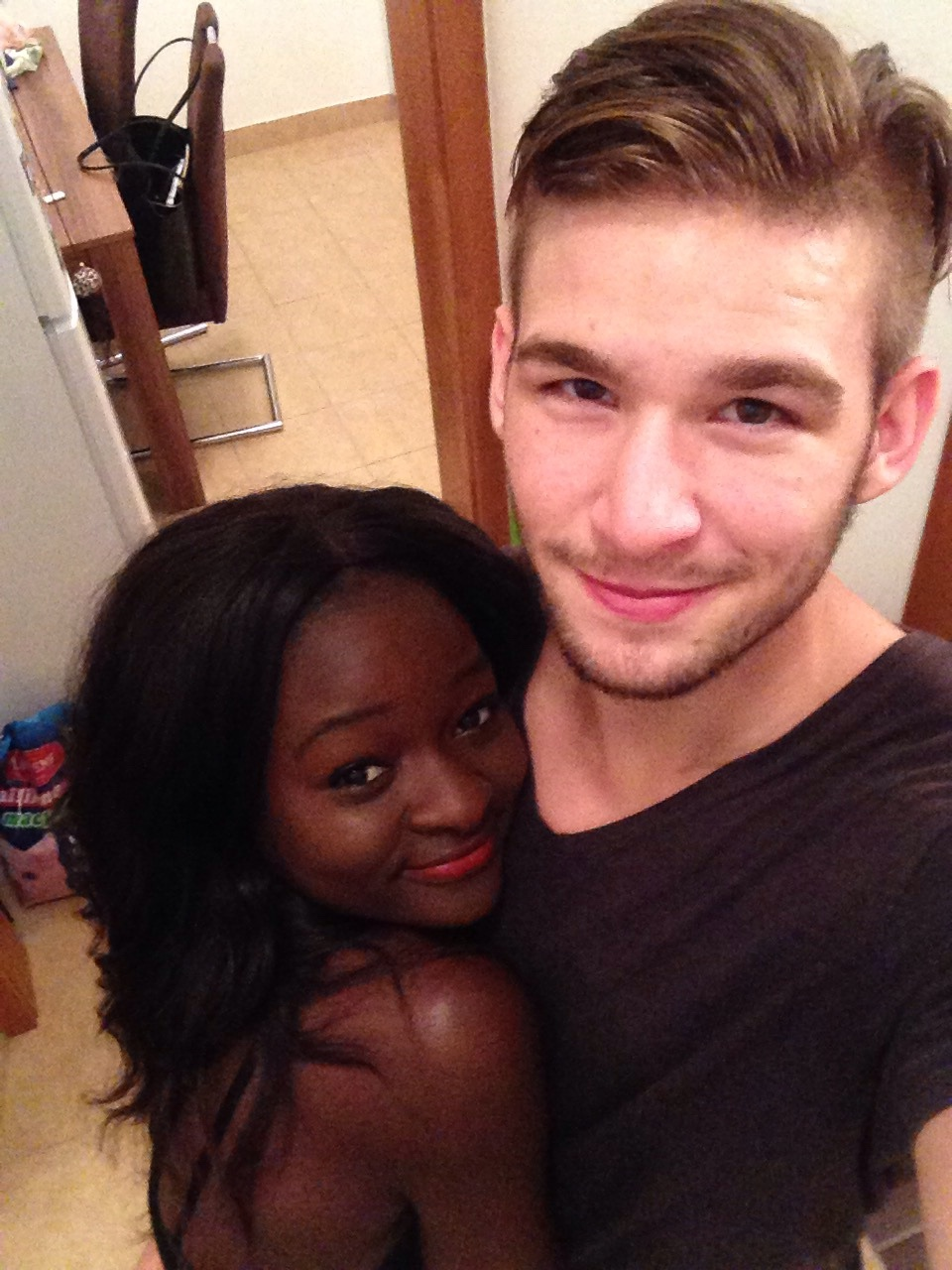 Interacial Complete bwwm relationship | via tumblr on we heart it