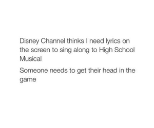 high school musical, relatable, and funny image