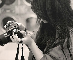 camera, tumblr, and camera girl image