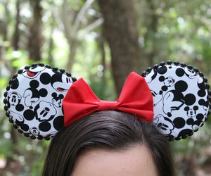disney, mickey, and mickey ears image
