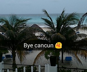 beach and cancun image