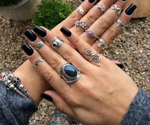 rings, accessories, and beautiful image