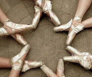 ballet, star, and shoes image