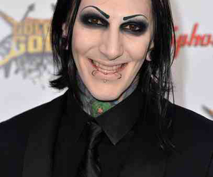 motionless in white, chris motionless, and goth image