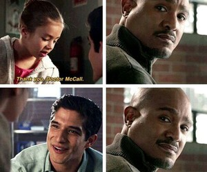 teen wolf, scott mccall, and deaton image