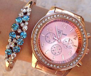jewelry, luxury, and watch image