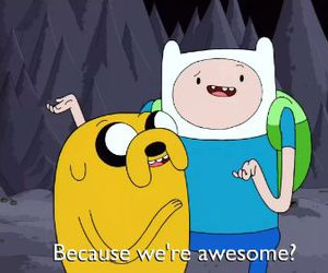 awesomeness, bff, and adventure time image