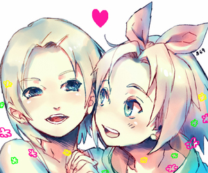 sakura haruno and ino yamanaka image