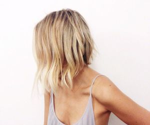 blonde, hair, and hair styles image