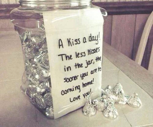 kiss, gift, and love image