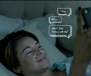 the fault in our stars, tfios, and okay image