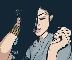 kylie jenner and kylie jenner art image