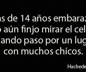 frases, girls, and chicos image