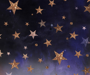 stars, glitter, and night image