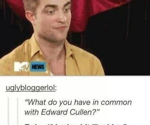 twilight, funny, and edward cullen image