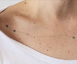 constellation, tattoo, and stars image