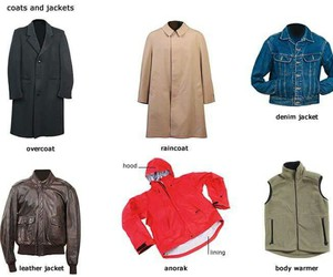 clothes, english, and vocabulary image