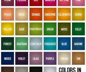 colors, english, and vocabulary image