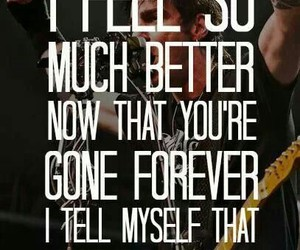 band, three days grace, and Lyrics image