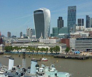 city, london, and river image