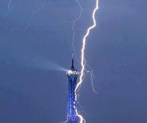 eiffel tower and in the paris image