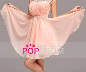 girl, pink, and prom dresses image