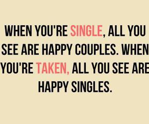 single, couple, and happy image